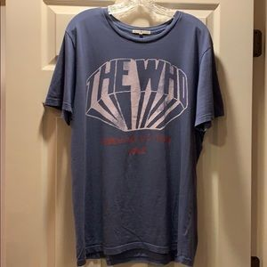 Junk Food The Who Farewell U.S.Tour 1982 t-shirt